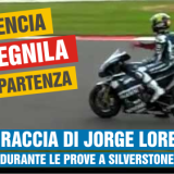 Jorge Lorenzo fa spegnere la moto
