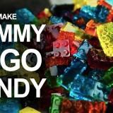 Come fare le caramelle a mattoncini Lego