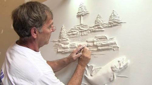 Drywall Art Sculpture – Quello che fa è arte pura