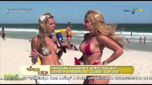 Intervista in spiaggia …ecco le intervistate