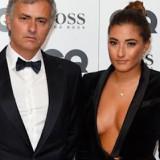 Josè Mourinho con la figlia Matilde che ama farsi notare
