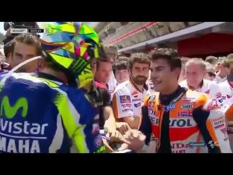 MotoGP| Rossi-Marquez arriva la stretta di mano