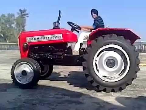 Questo trattore è unico nel suo genere
