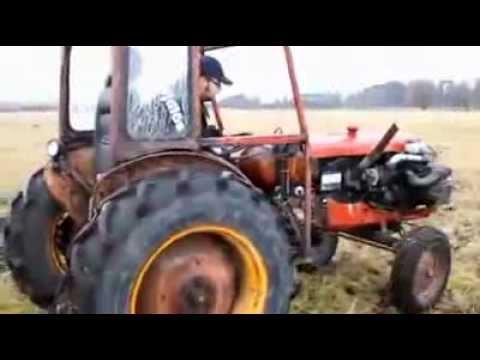 Questo video vi stupirà. Non è un semplice trattore